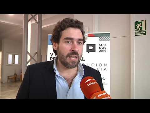 Inauguración do V encontro profesional de coproducción Portugal   Galicia 14 11 19