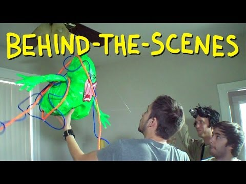 Ghostbusters Trap Slimer – Homemade (Behind The Scenes)