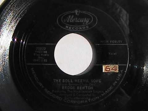 BROOK BENTON THE BOLL WEEVIL SONG  MERCURY RECORDS