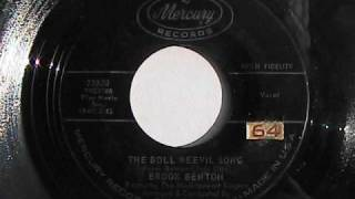 BROOK BENTON THE BOLL WEEVIL SONG  MERCURY RECORDS