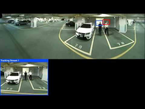B74 Parking Lot installation in Taiwan with Digital Auto Tracking to object