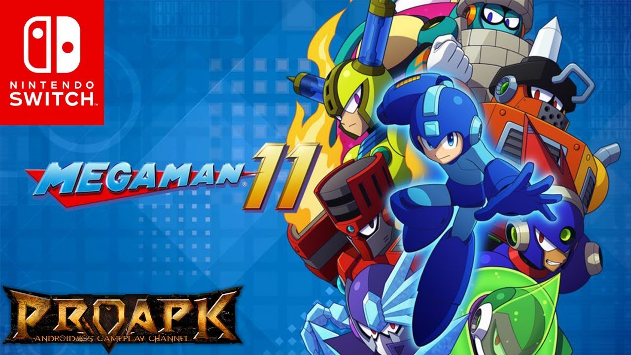 [Nintendo Switch] Megaman 11 Demo Gameplay (by CAPCOM)