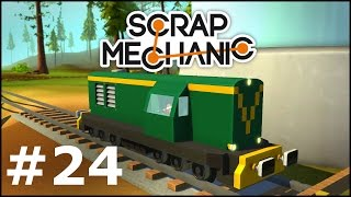 Video Scrap Mechanic #24 - Mody, Lokomotywa spalinowa SM31 download MP3, 3GP, MP4, WEBM, AVI, FLV Desember 2017