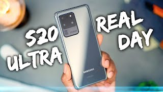 Samsung Galaxy S20 Ultra - REAL Day in the Life Review!