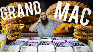 The GRAND Big Mac Challenge (By Popular Demand) | BeardMeatsFood