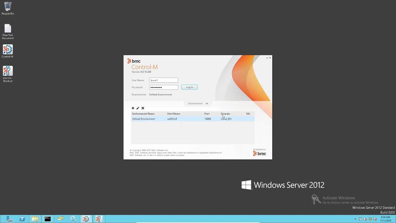 Control-M Enterprise Manager Client unable to l    | BMC