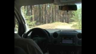 Тест-драйв Volkswagen Amarok по бездорожью