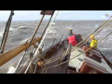 "Pilot Cutter ""Edith Gray"" Sea trials"