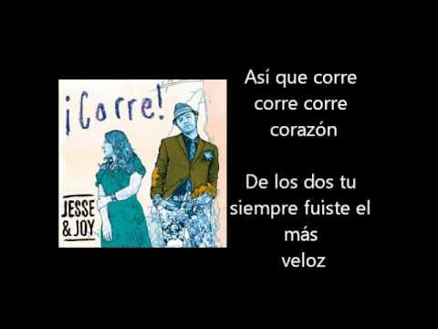 Jesse & Joy - Corre Letra Lyrics
