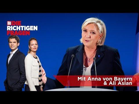"""Le Pen - Kann sie jetzt wirklich Präsidentin werden? BILD stellt """"Die richtigen Fragen""""!"""
