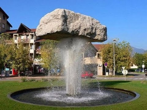 53 Creative fountain waterfalls ideas