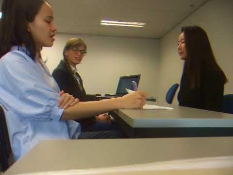 Business Communication Job Interview Jess Gyuri Ana