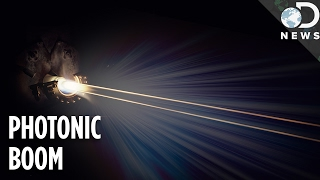 'Sonic Boom' Of Light Captured For The First Time Ever