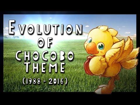 Evolution of Chocobo Theme (1988 - 2016)