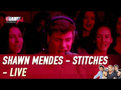 Shawn Mendes - Stitches - Live - C'Cauet...