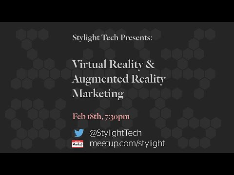 Virtual Reality & Augmented Reality for Marketing