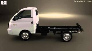 Hyundai HR Porter Chassis Truck 2013 by 3D model store Humster3D.com