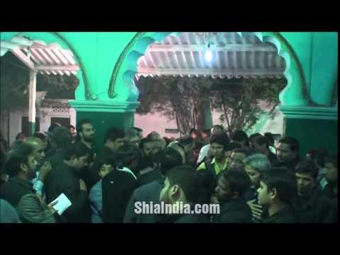 25th Safar Majlis at Mulla Razvi Ka Alawa 1436 2014-15