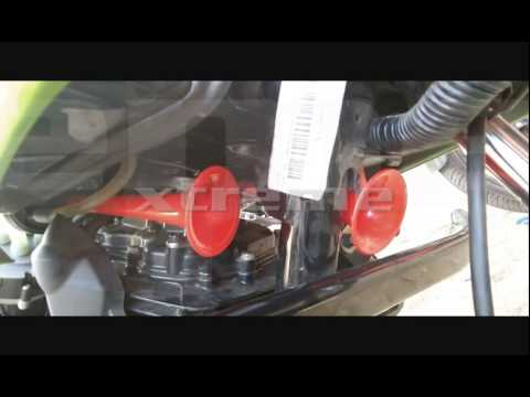 3 PIPE AIR HORN SOUND DEMO BY XTREME