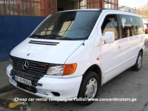Concord Motors - cheap car rental company in Tbilisi. Georgia