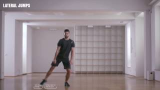 Online Fitness I How To I Lateral Jumps