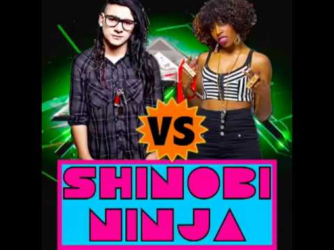 SKRILLEX SHINOBI NINJA - SCATTA (FEAT FOREIGN BEGGARS AND BARE NOIZE AND ID VICIOUS)