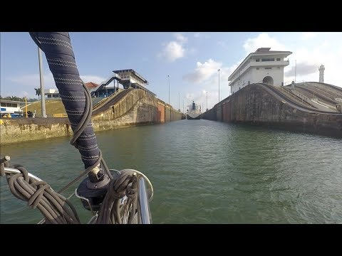 PANAMA CANAL: Caribbean to the Pacific – Sailing L'Attitude – Ep 31