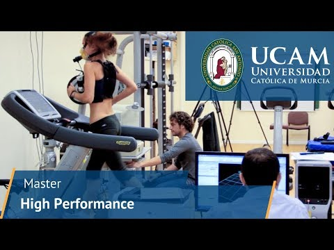 Master in High Performance Sport | UCAM University