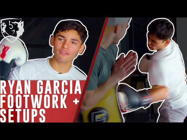 Ryan Garcia's Footwork & Setups [Home Boxing Drills]