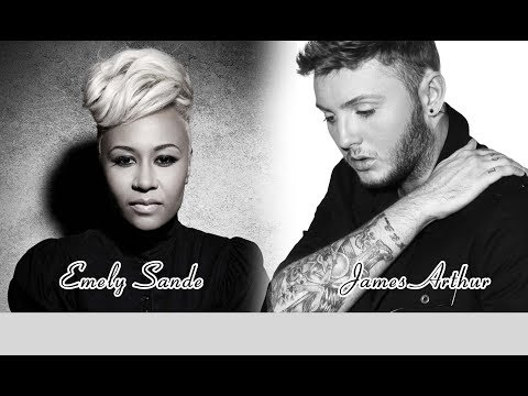 James Arthur feat Emelie Sandé - Roses - KARAOKE ORIGINAL SONG