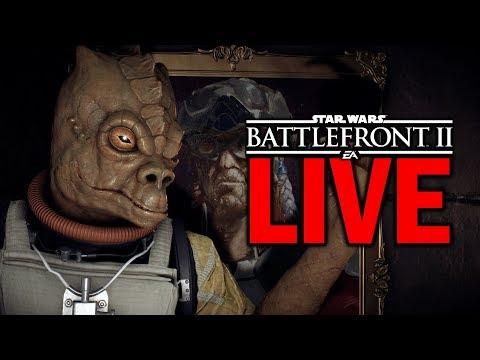 PATCH TOMORROW FINALLY! Star Wars Battlefront 2 Live Stream #60