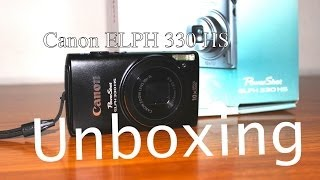 Canon Powershot ELPH 330 HS - Unboxing Vlogging Camera with extras