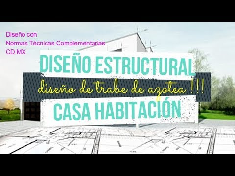 Dise o estructural casa habitaci n trabe de azotea ntc cd for Diseno estructural de casa habitacion