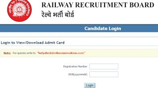 RRB NTPC stage 2 Result Date Announcement & Frequently Ask Questions on Aptitude and Typing test 2017 Video