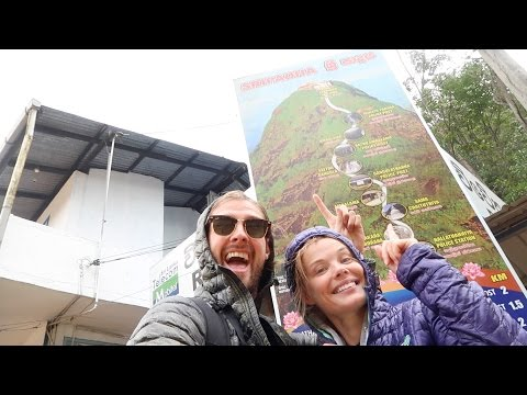 TRAVEL VLOG #12 ADAM'S PEAK IN 6 MIN 29 SEC FLAT | NALLATHANNIYA