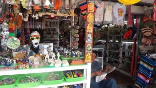 Shopping in Cancun, Mexico 1/2015