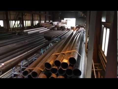Производство спиралешовных труб большого диаметра