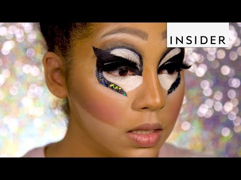 We Tried Following A Drag Makeup Tutorial