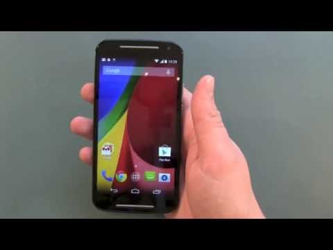 Motorola Moto G 2nd Gen 2014 Setup And First Impressions