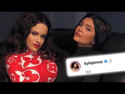 ¿Rosalía y Kylie Jenner se Comprometieron?