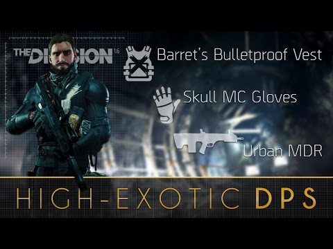 The Division™ 1.6 - High-End/Exotic DPS Build (Complete Guide)