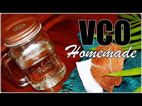 HOW TO MAKE VIRGIN COCONUT OIL [VCO] HOMEMADE   SIMPLE AND FAIL-SAFE