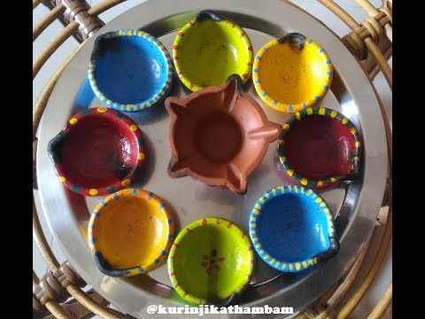 Quick and easy way to clean Diyas / Agal Vilkku / Lamps