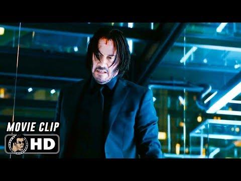 JOHN WICK 3 Clip - Shinobi Assassin (2019) Keanu Reeves