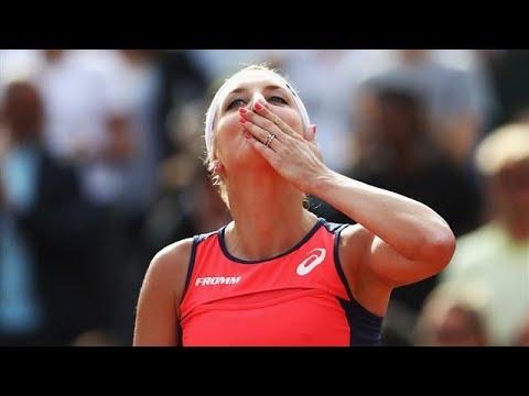 Timea Bacsinszky vs Kristina Mladenovic (FR) Fed Cup 2017
