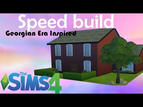 The Sims 4 - Speed Build - Georgian Era Inspired