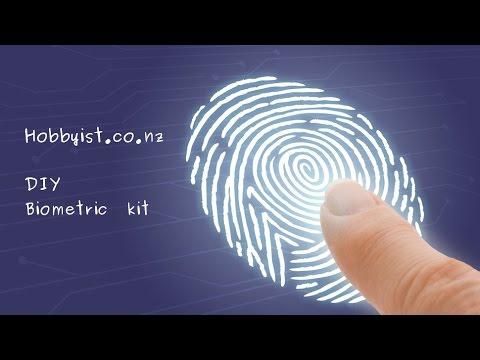 Fingerprint Sensor Kit - Part 1: Using enrolling software