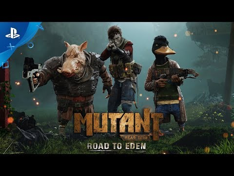 Mutant Year Zero: Road to Eden – Cinematic Reveal Trailer | PS4