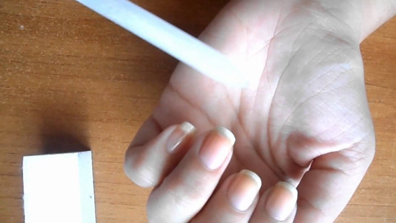 limare unghie  Come limare correttamente le unghie.wmv - YouTube