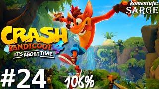 Zagrajmy w Crash Bandicoot 4: Najwyższy Czas (106%) odc. 24 - Pokłady cierpliwości